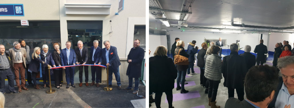 Inauguration Tanneurs parking public_Lagny sur Marne